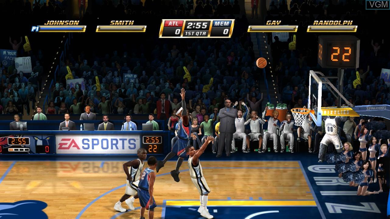 Image in-game du jeu NBA Jam sur Sony Playstation 3