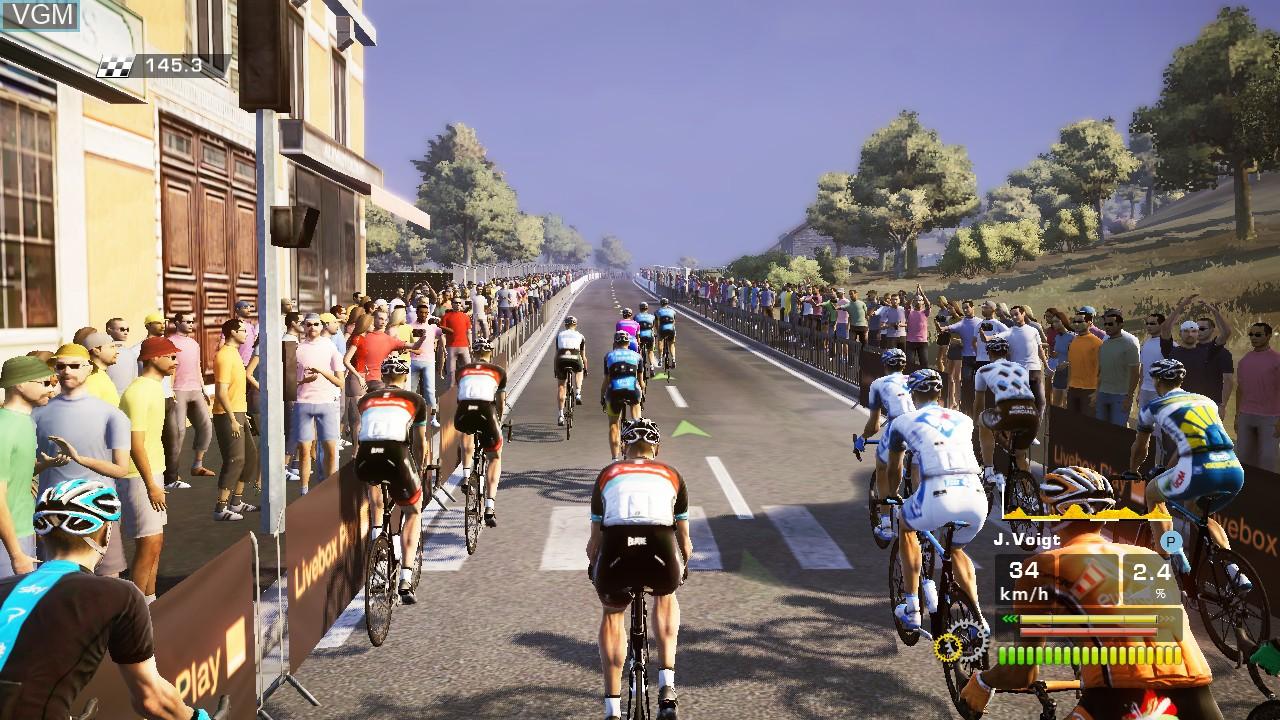 Image in-game du jeu Tour de France 2013, Le - 100th Edition sur Sony Playstation 3