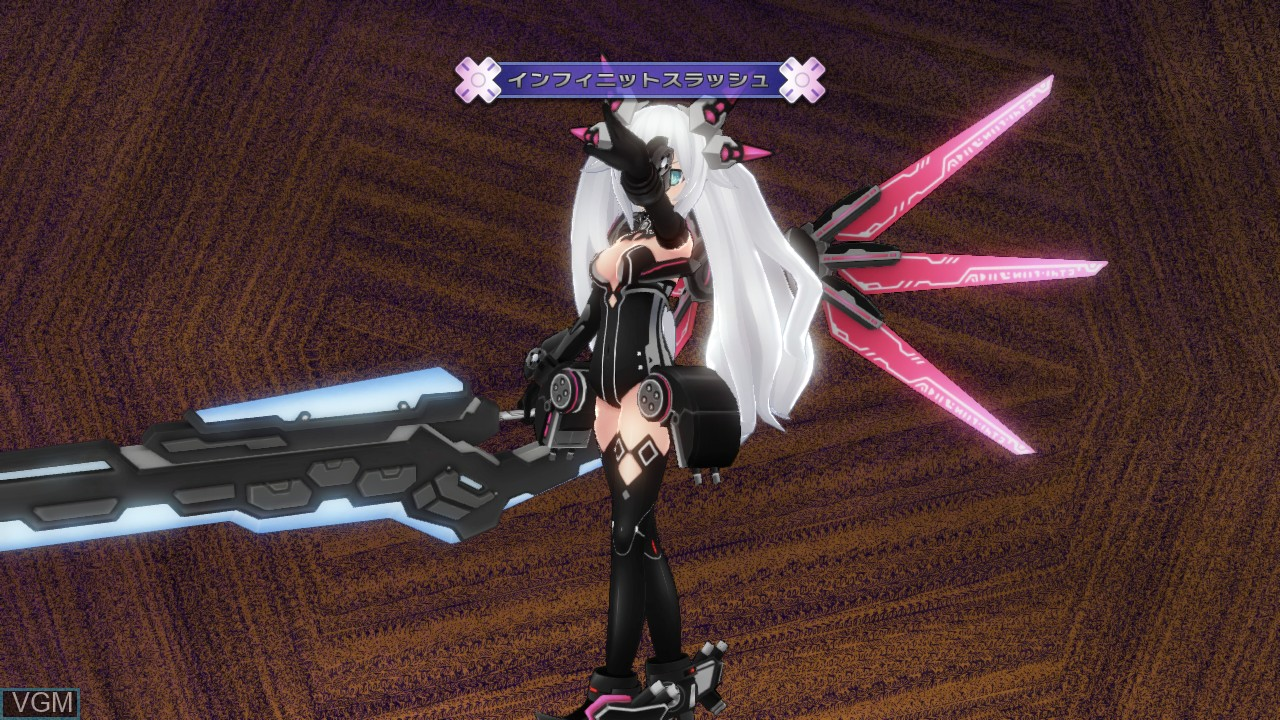 Image in-game du jeu Hyperdimension Neptunia Victory sur Sony Playstation 3