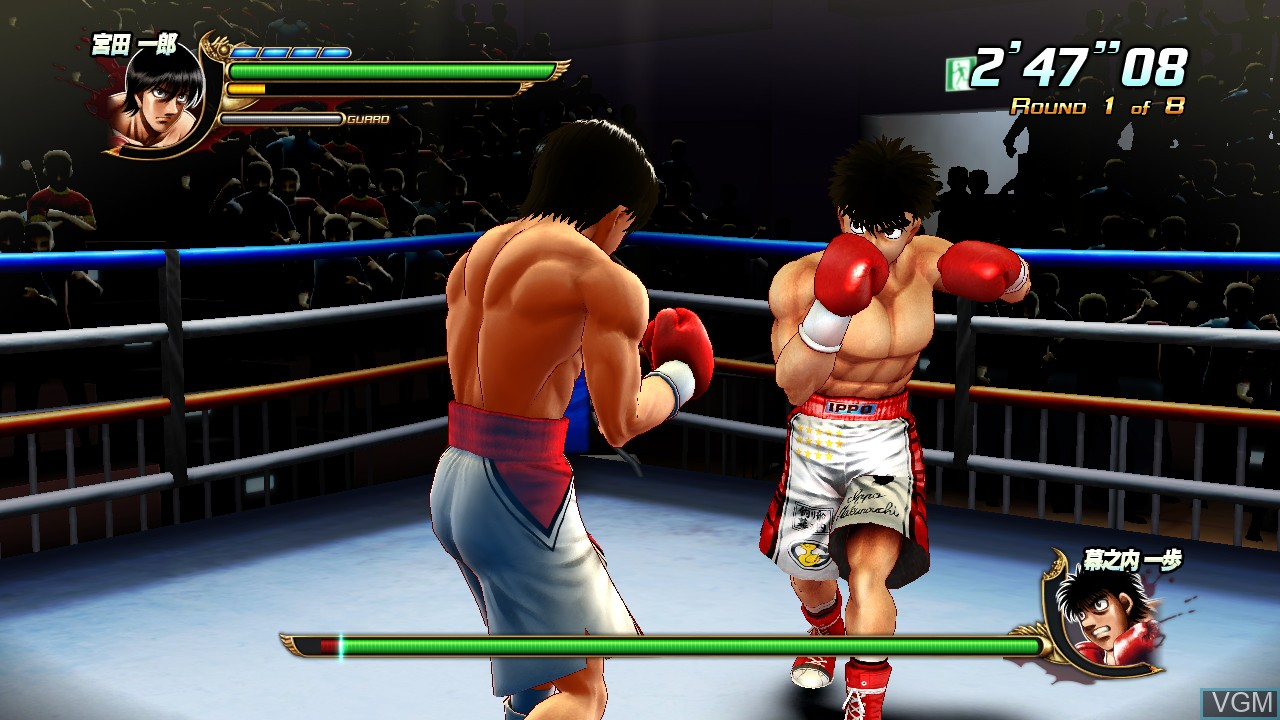 Image in-game du jeu Hajime no Ippo - The Fighting! sur Sony Playstation 3