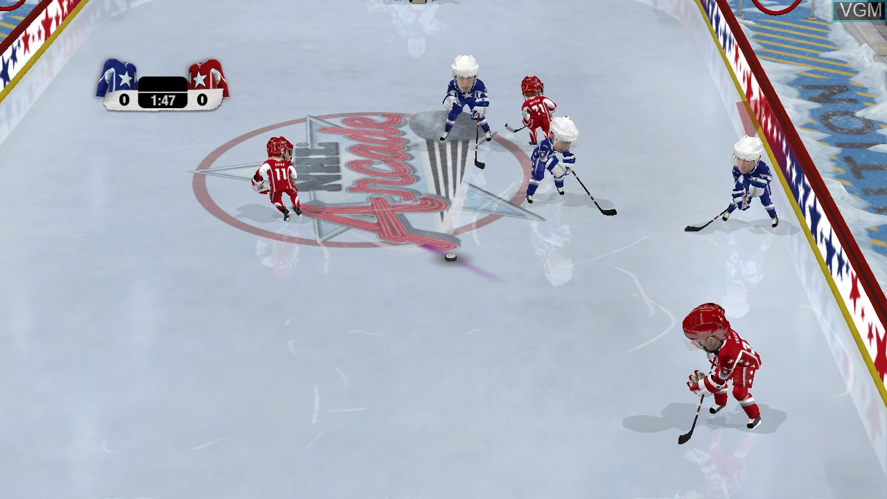 Image in-game du jeu 3 on 3 NHL Arcade sur Sony Playstation 3
