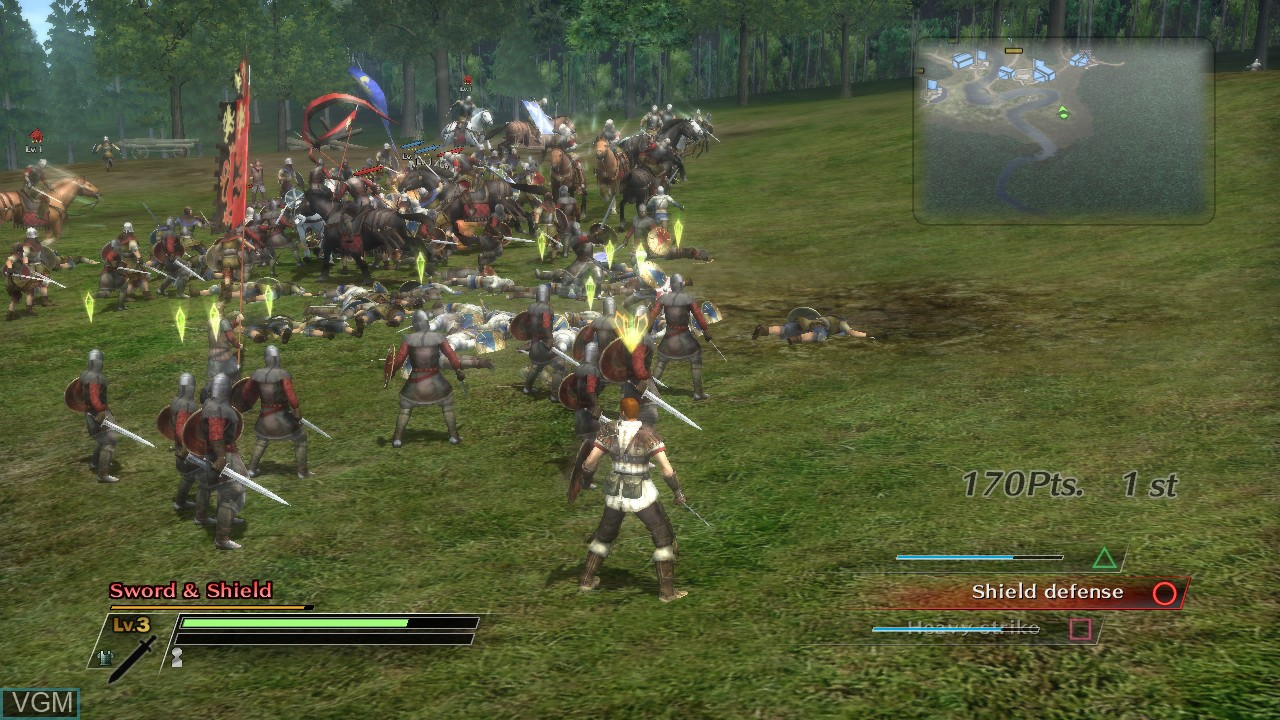 Image in-game du jeu Bladestorm - The Hundred Years' War sur Sony Playstation 3
