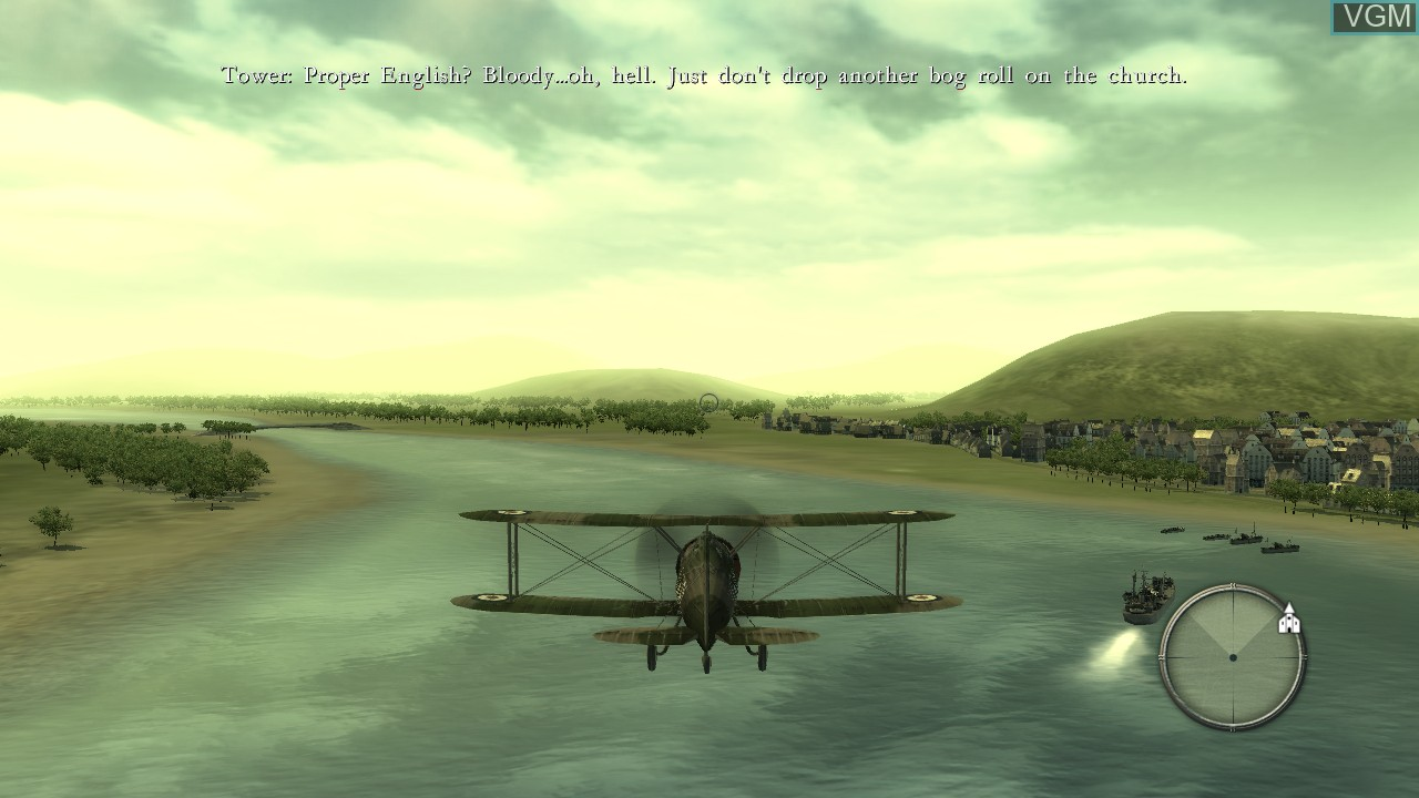 Image in-game du jeu Blazing Angels - Squadrons of WWII sur Sony Playstation 3