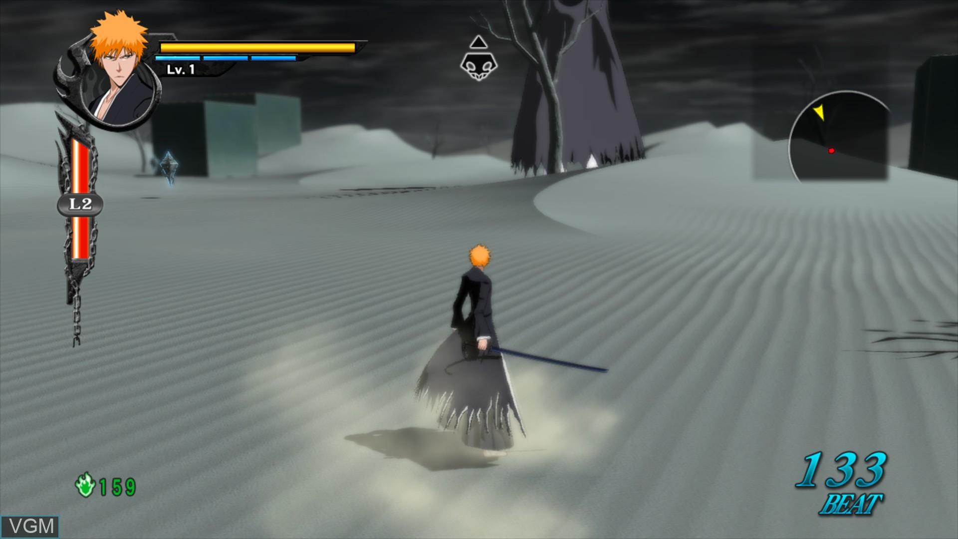 Image in-game du jeu Bleach - Soul Resurreccion sur Sony Playstation 3