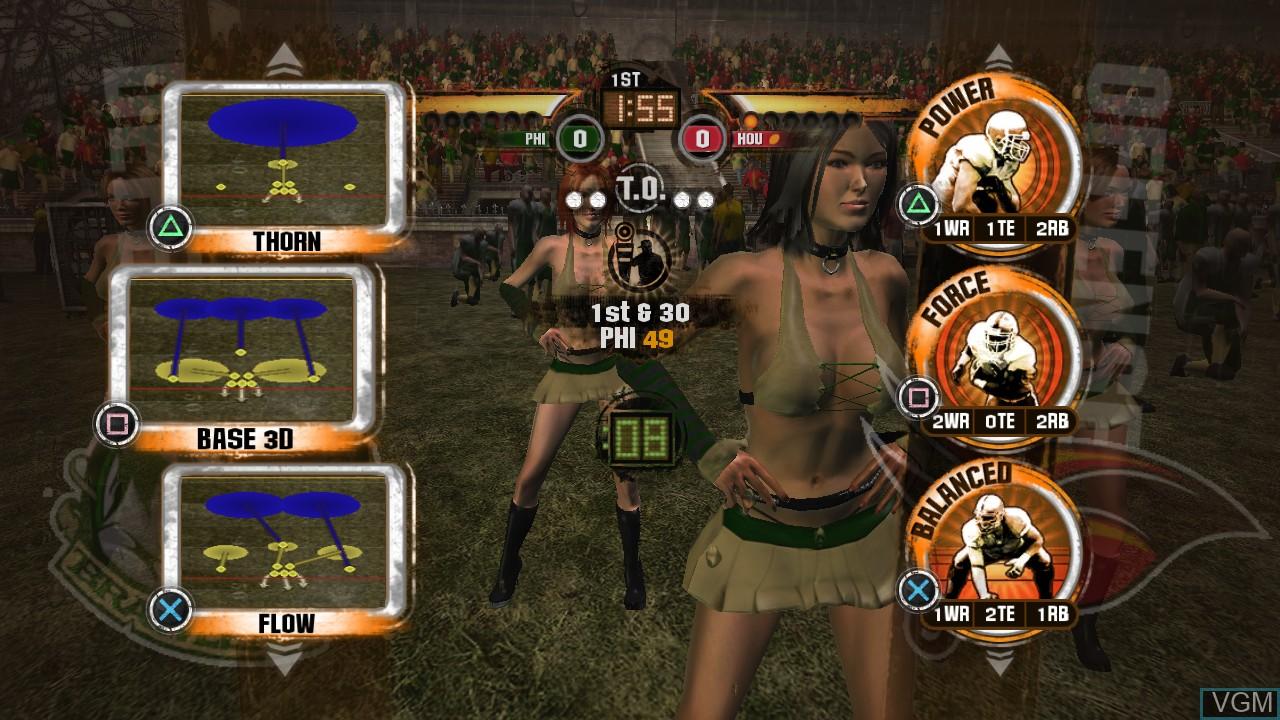 Image in-game du jeu Blitz - The League II sur Sony Playstation 3