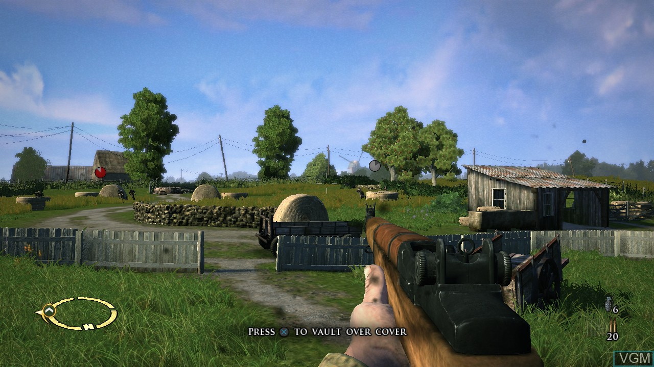Image in-game du jeu Brothers in Arms - Hell's Highway sur Sony Playstation 3
