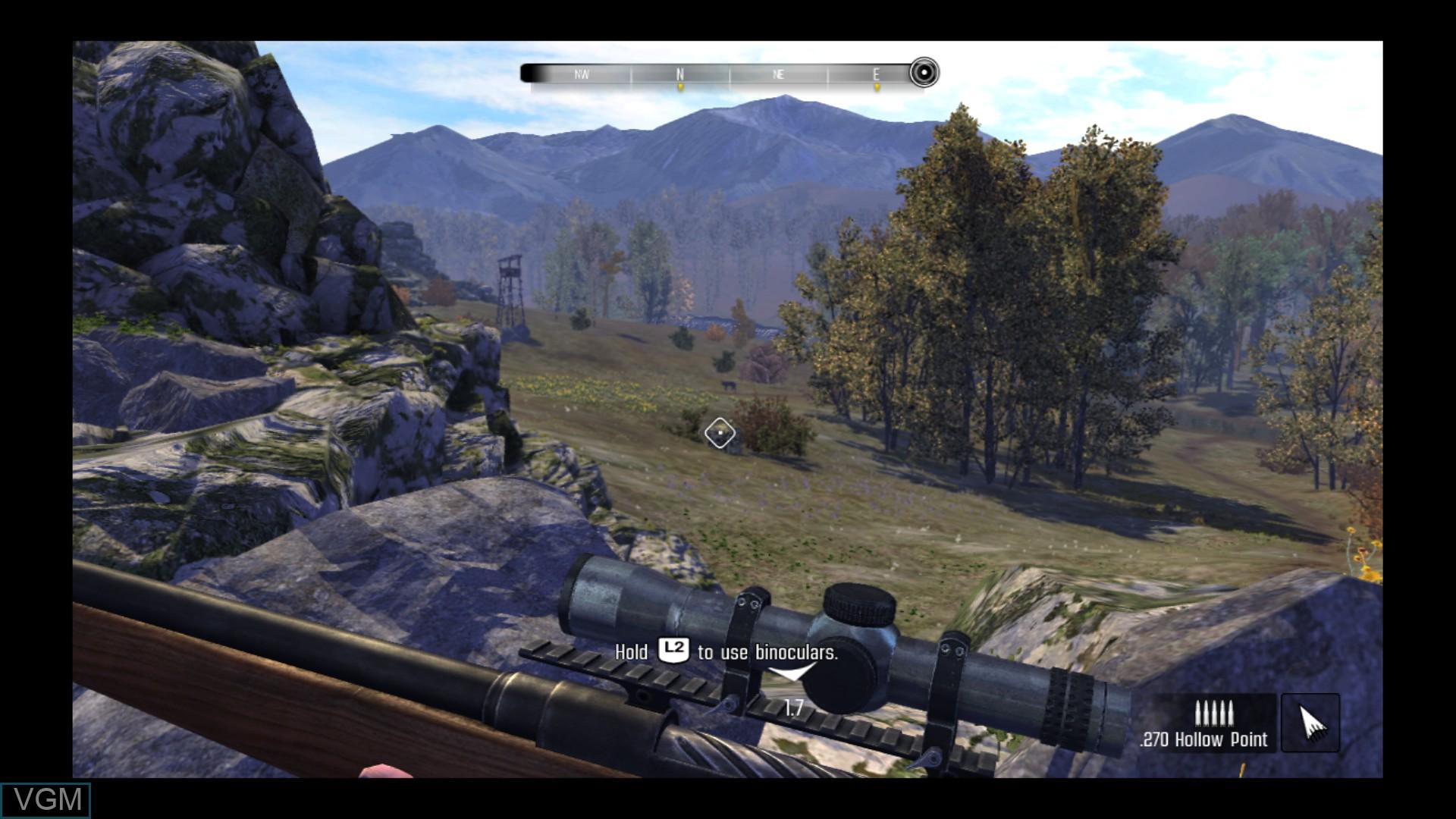 Image in-game du jeu Cabela's Big Game Hunter - Pro Hunts sur Sony Playstation 3