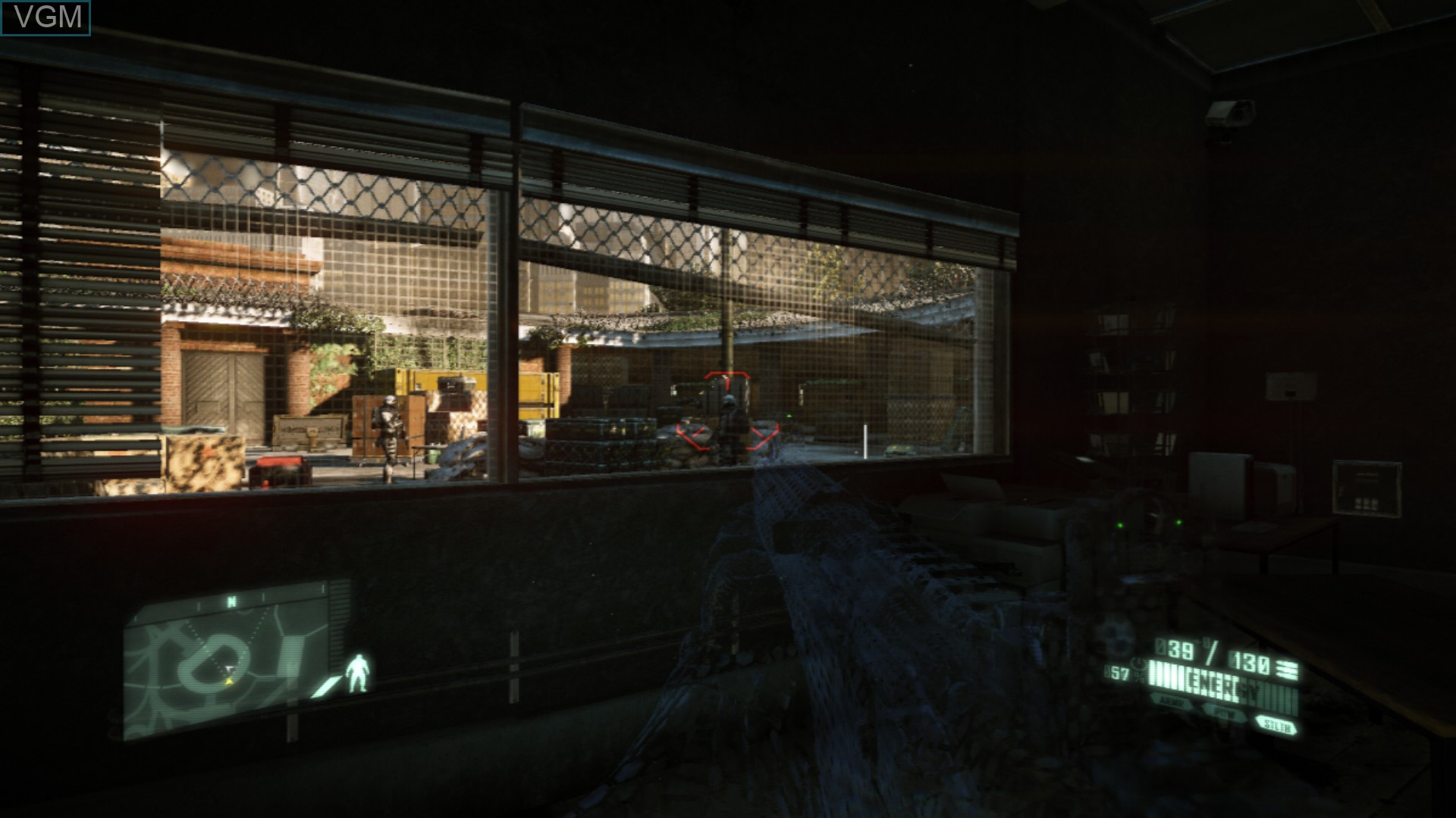 Image in-game du jeu Crysis 2 sur Sony Playstation 3
