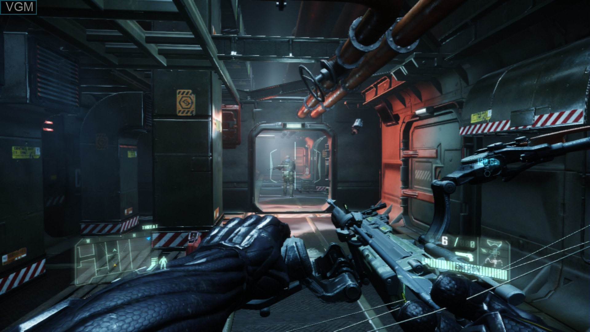 Image in-game du jeu Crysis 3 sur Sony Playstation 3