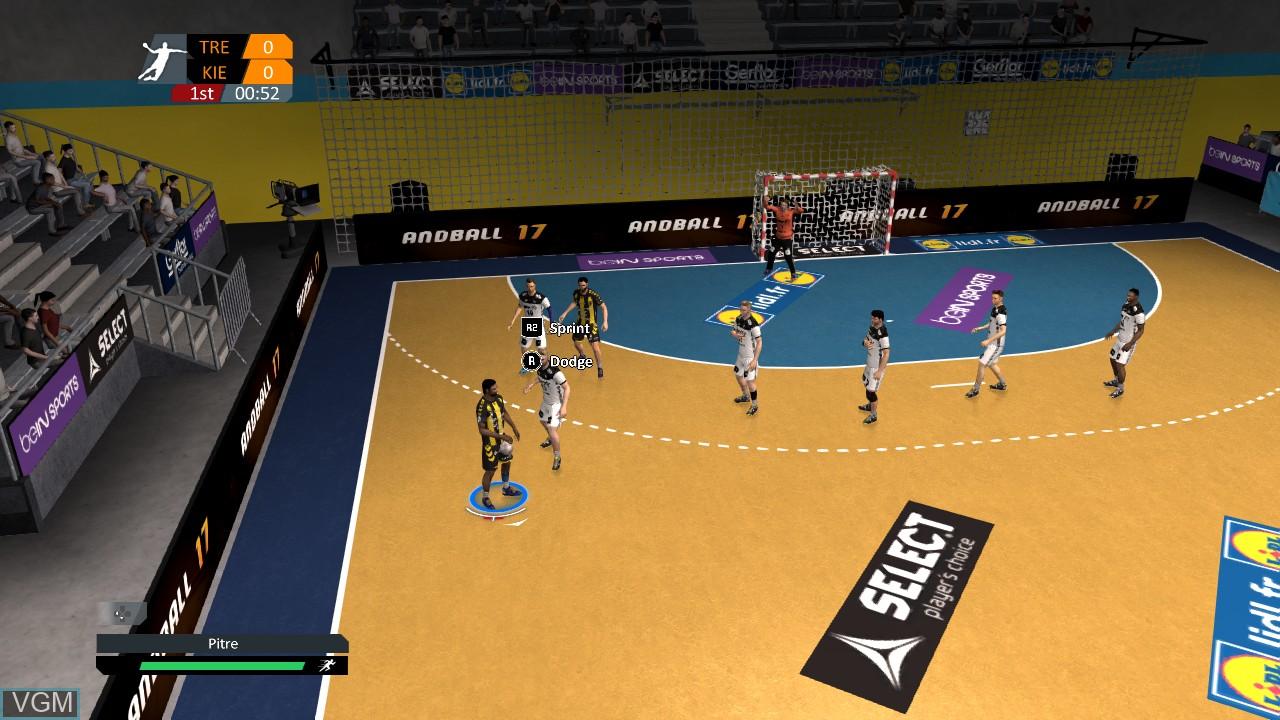 Image in-game du jeu Handball 17 sur Sony Playstation 3