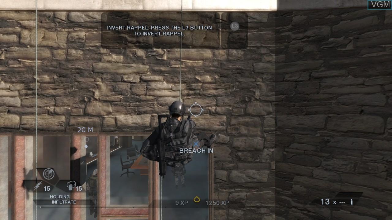 Image in-game du jeu Tom Clancy's Rainbow Six Vegas 2 sur Sony Playstation 3