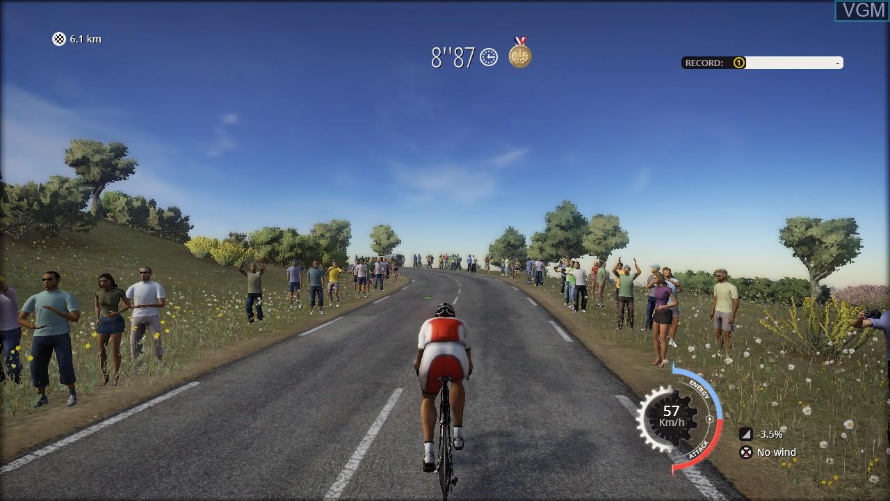 Image in-game du jeu Tour de France, Le sur Sony Playstation 3