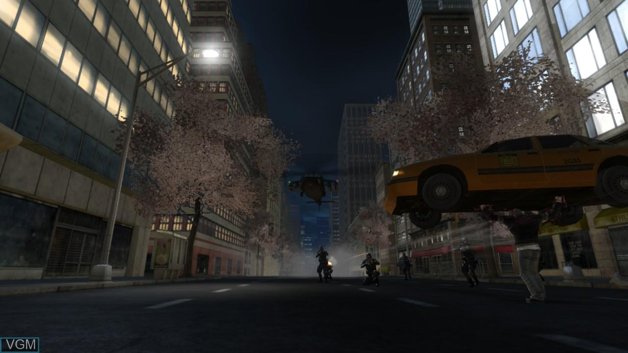 Image in-game du jeu Prototype sur Sony Playstation 3