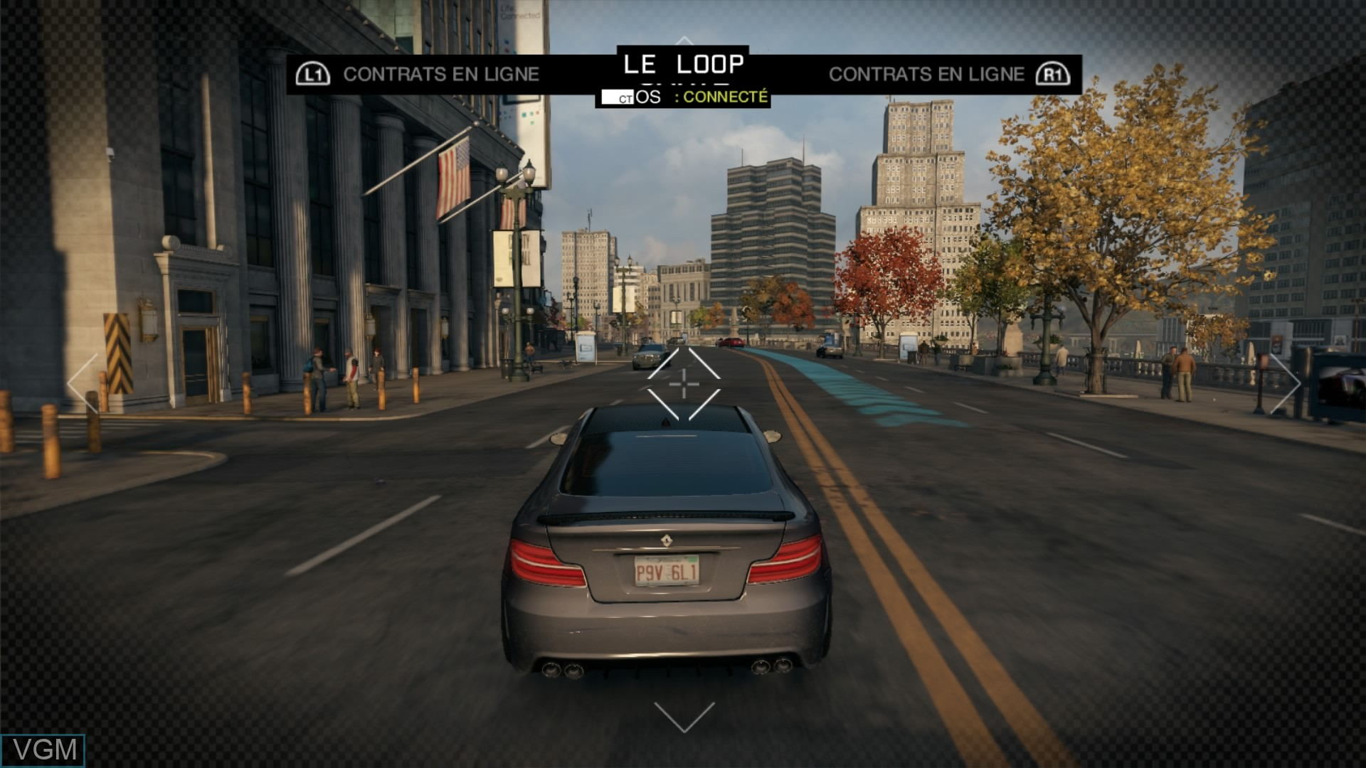 Image in-game du jeu Watch Dogs sur Sony Playstation 4