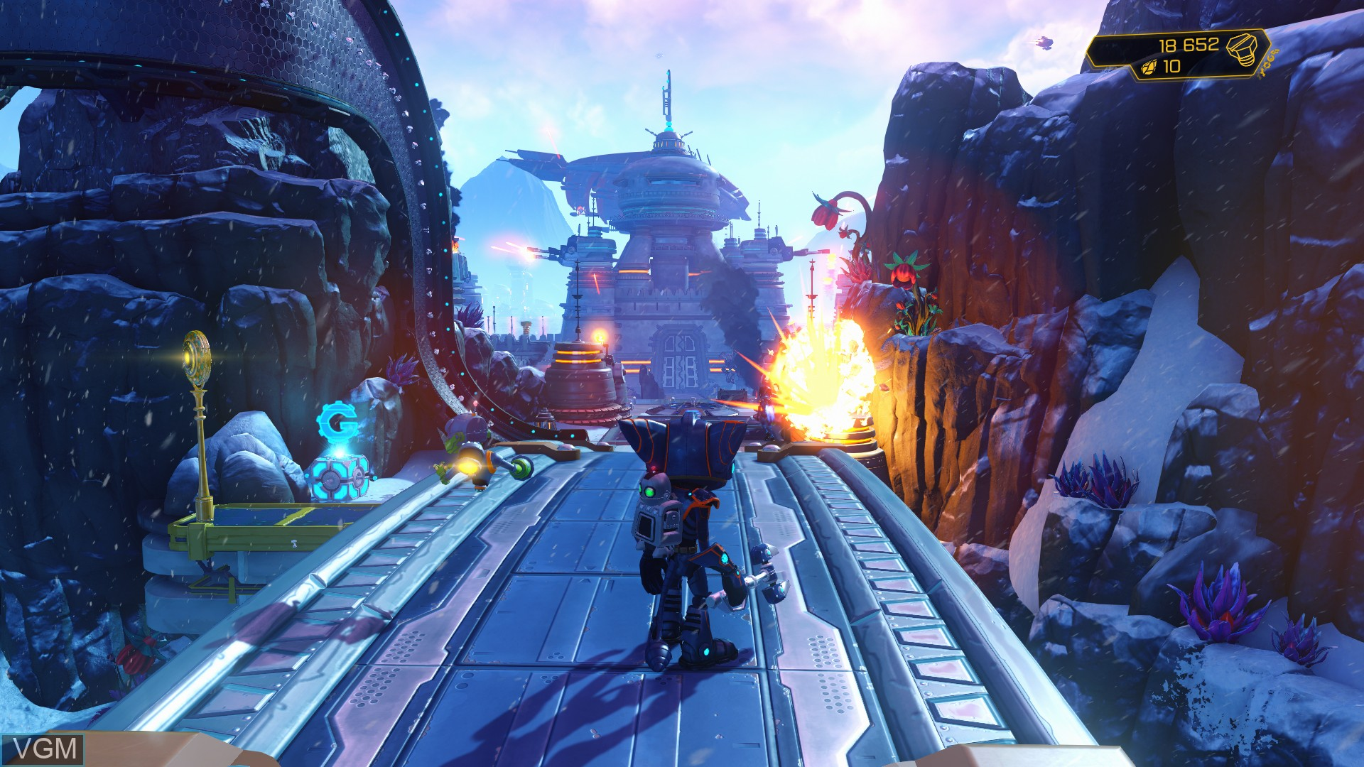Image in-game du jeu Ratchet & Clank sur Sony Playstation 4