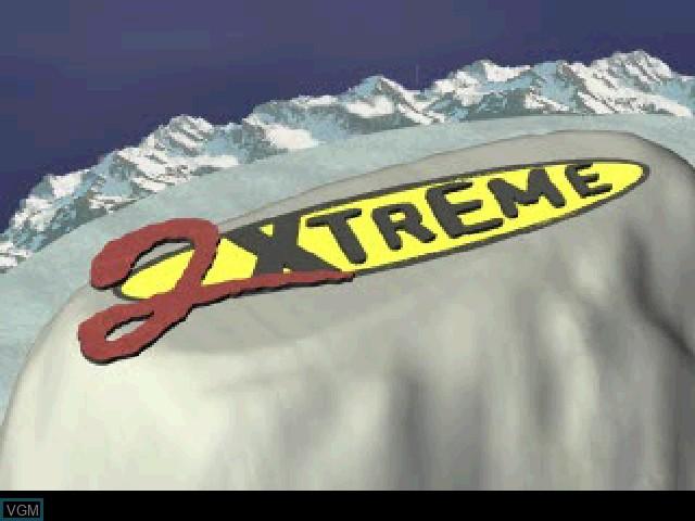 Image de l'ecran titre du jeu 2Xtreme sur Sony Playstation