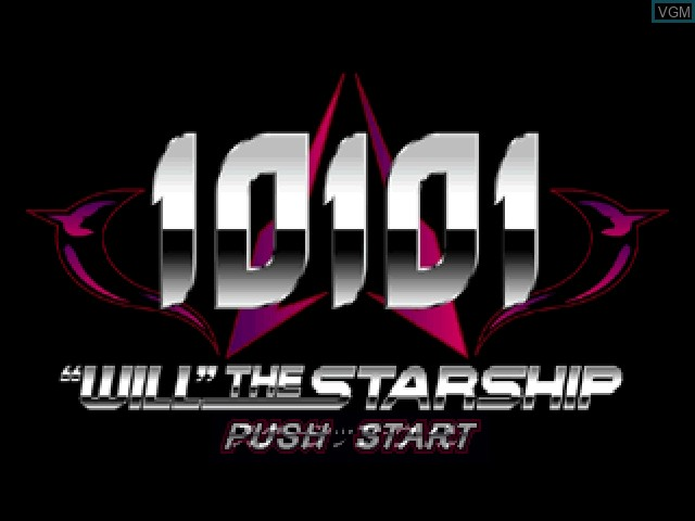 Image de l'ecran titre du jeu 10101 - Will the Starship sur Sony Playstation