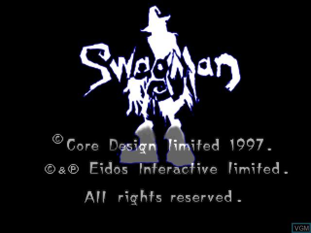 Image de l'ecran titre du jeu Swagman sur Sony Playstation