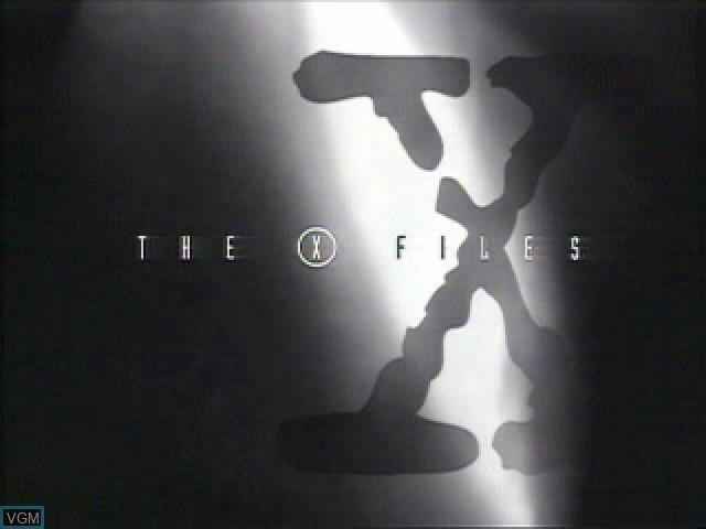 Image de l'ecran titre du jeu X-Files, The sur Sony Playstation