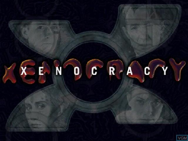 Image de l'ecran titre du jeu Xenocracy - The Ultimate Solar War sur Sony Playstation