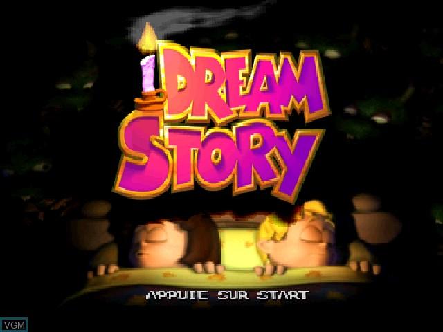 Image de l'ecran titre du jeu Dream Story - Les Aventures de Tim et Lola sur Sony Playstation