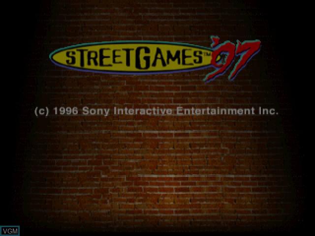 Image de l'ecran titre du jeu Street Games '97 sur Sony Playstation