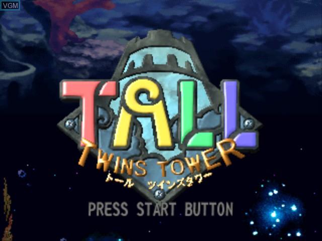 Image de l'ecran titre du jeu Tall - Twins Tower sur Sony Playstation
