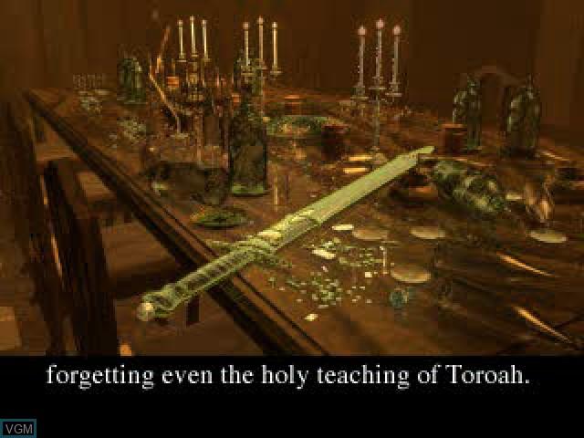 Image du menu du jeu Vandal Hearts sur Sony Playstation
