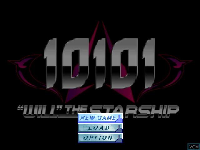 Image du menu du jeu 10101 - Will the Starship sur Sony Playstation