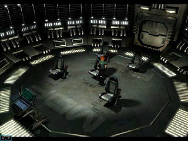 Image du menu du jeu Vanark sur Sony Playstation