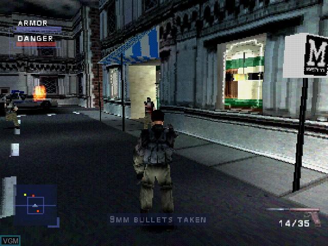 Image in-game du jeu Syphon Filter sur Sony Playstation