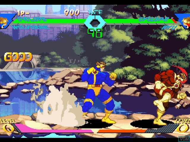 X-Men vs. Street Fighter - EX Edition