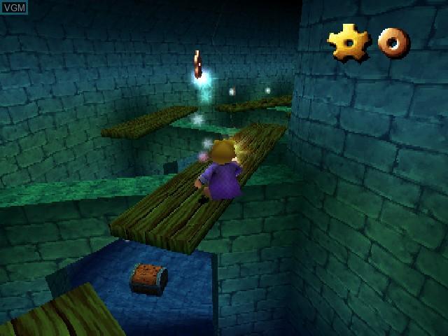 Image in-game du jeu 40 Winks sur Sony Playstation
