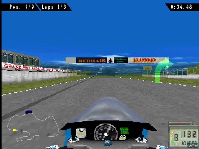 Image in-game du jeu Extreme 500 sur Sony Playstation