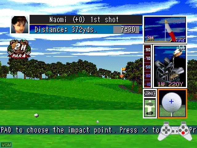 Tecmo World Golf - Japan