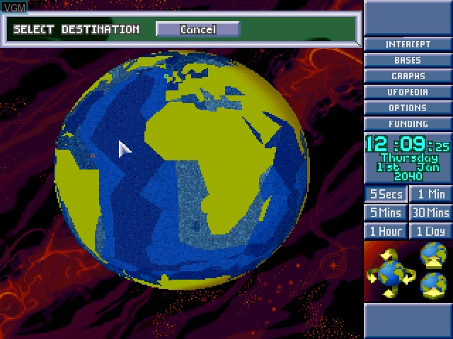 Image in-game du jeu X-COM - Terror from the Deep sur Sony Playstation