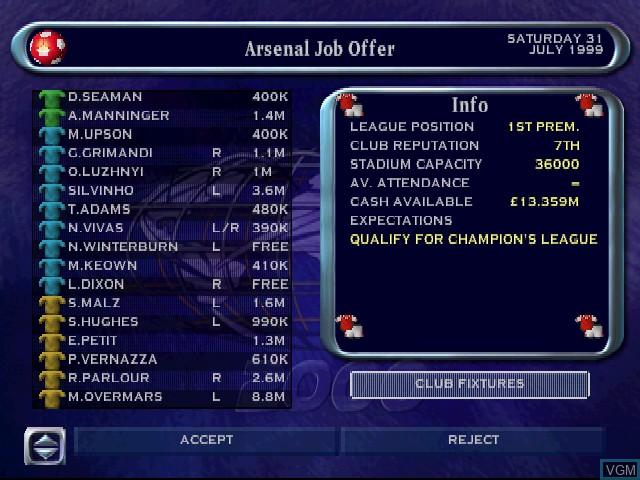 Calcio Manager 2000