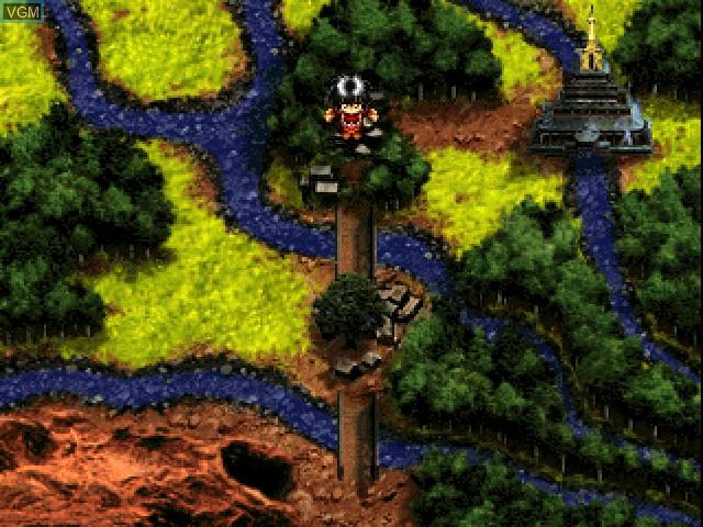 Image in-game du jeu Alnam no Kiba - Juuzoku Juuni Shinto Densetsu sur Sony Playstation