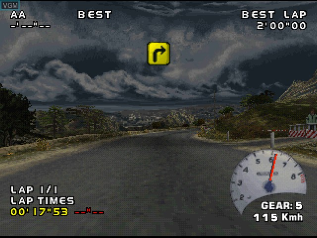 Image in-game du jeu V-Rally - Championship Edition 2 sur Sony Playstation