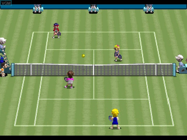 Image in-game du jeu All Star Tennis 2000 sur Sony Playstation