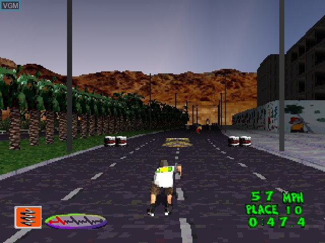 Image in-game du jeu 2Xtreme sur Sony Playstation