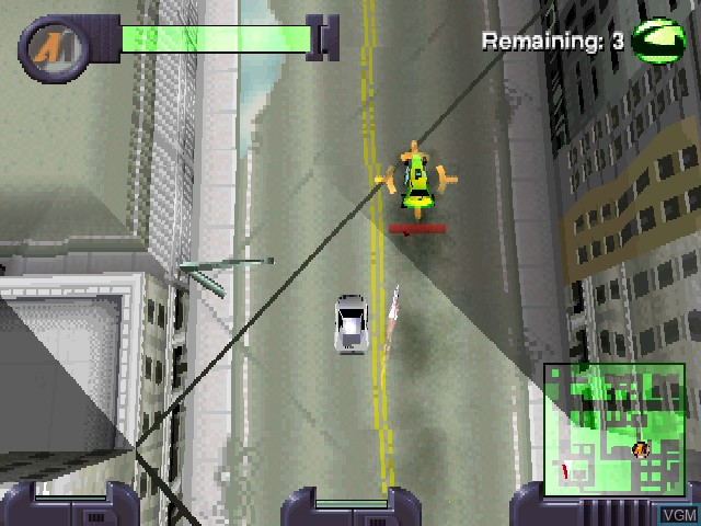 Image in-game du jeu Action Man - Mission Xtreme sur Sony Playstation
