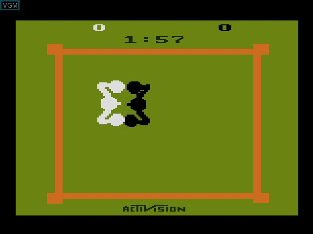 Image in-game du jeu Activision Classics sur Sony Playstation