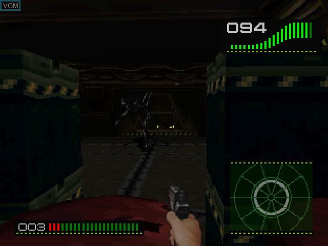 Image in-game du jeu Alien Trilogy sur Sony Playstation