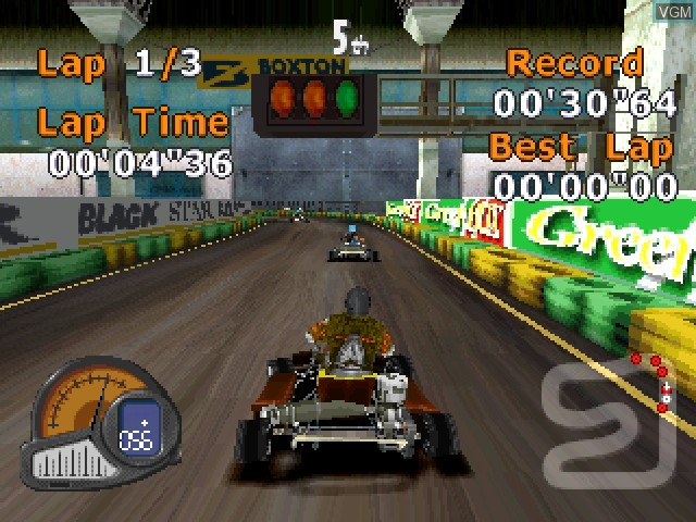 Image in-game du jeu All Star Racing 2 sur Sony Playstation