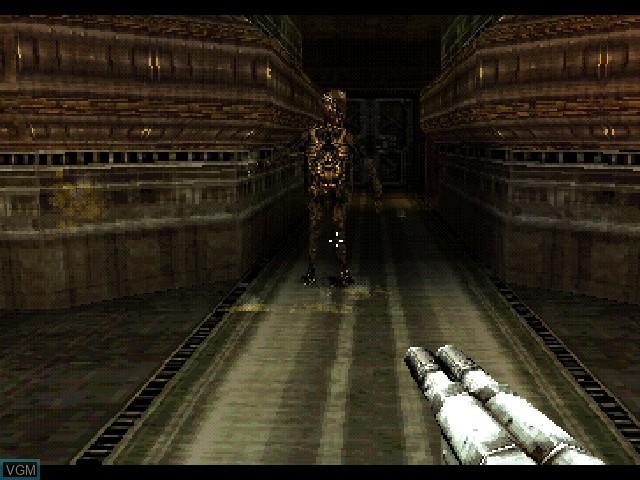 Image in-game du jeu Alien Resurrection sur Sony Playstation