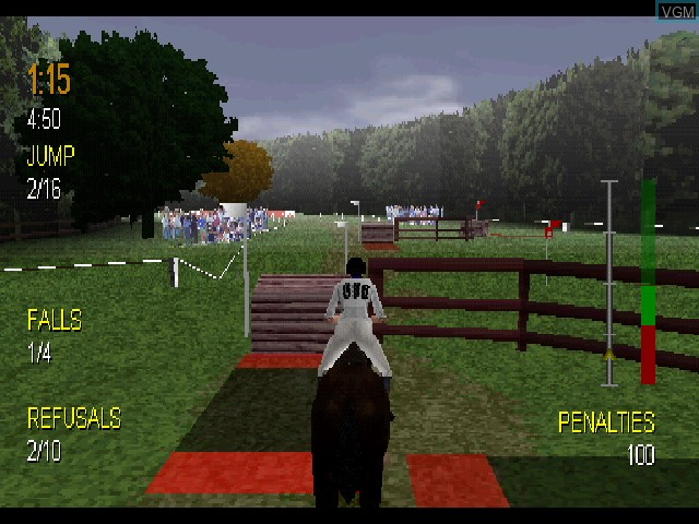 Image in-game du jeu Equestriad 2001 sur Sony Playstation