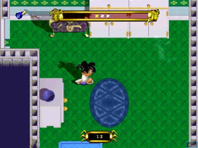 Image in-game du jeu Swagman sur Sony Playstation