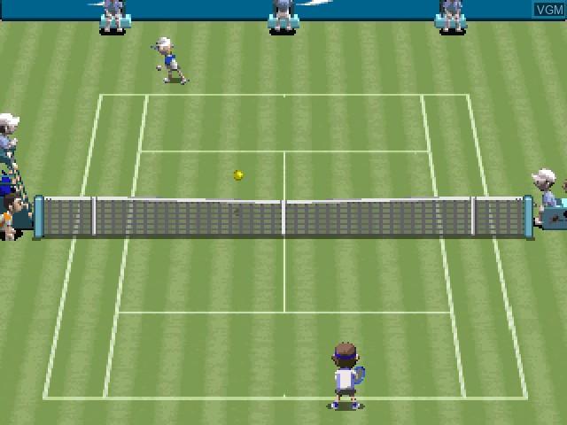 Image in-game du jeu Tennis sur Sony Playstation