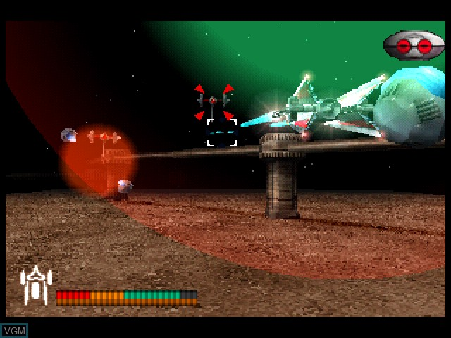 Image in-game du jeu Vanark sur Sony Playstation